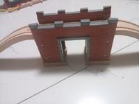 Christmas Gift Thomas Cave Bridge Railway Pack Fit Thomas And Brio Wooden Train Educational Boy Kids