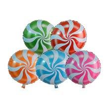 2 шт. 18 маленький воздушный шар леденцы вихревые конфеты форма для дней рождения и вечеринок декоративные шары Лидер продаж