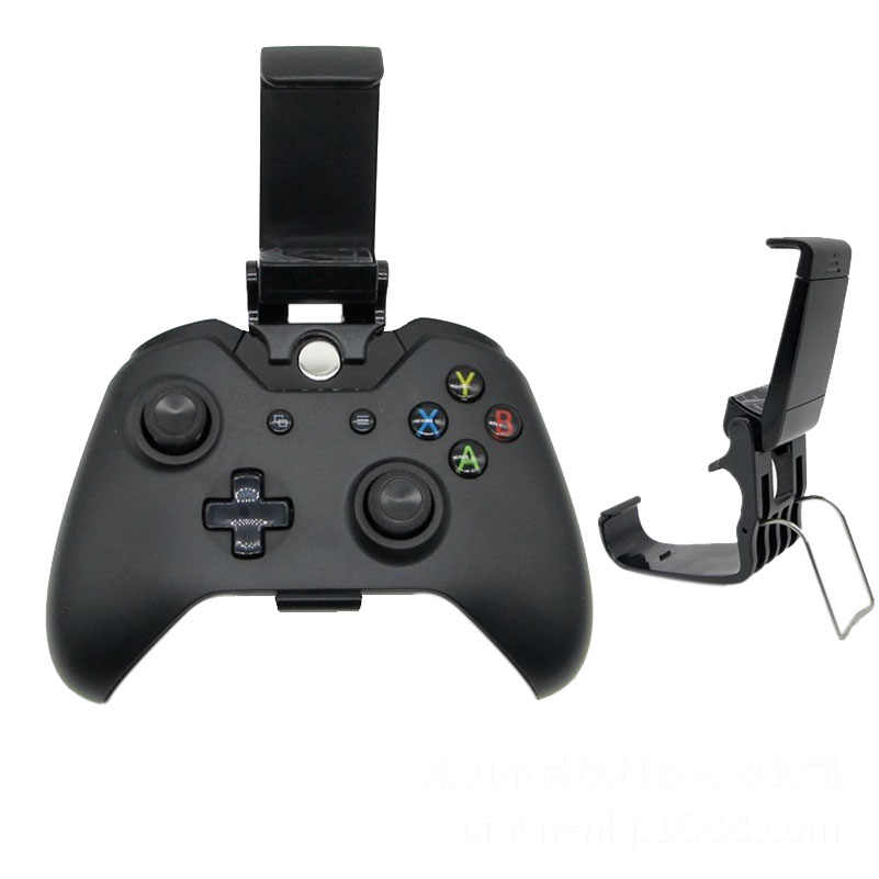 Game Pad Phone Mount Bracket Hand grip Stand For Xbox ONE S/Slim Ones Controller Gamepad Mobile Adjustable Clip Holder Handle
