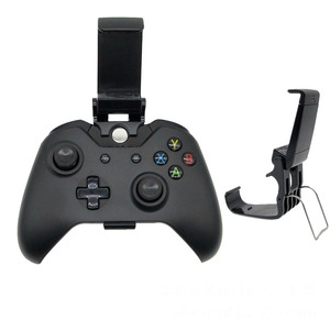 Game Pad Phone Mount Bracket Hand grip Stand For Xbox ONE S/Slim Ones Controller Gamepad Mobile Adjustable Clip Holder Handle(China)