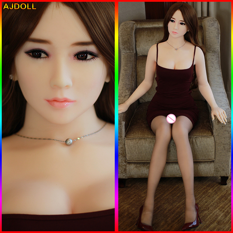 158cm TPE with Metal Skeleton Sex Dolls Realistic Breast Vagina Ass Pussy Love Doll Oral Anal
