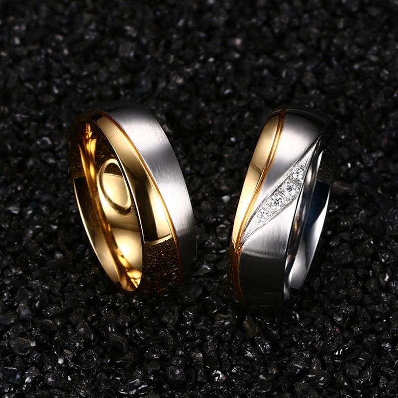 Meaeguet романтични сватбени пръстени за - Модни бижута - Снимка 5