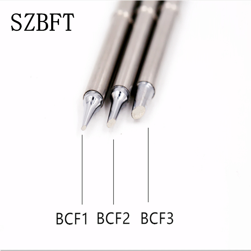 SZBFT Lead free soldering tips t12 for hakko T12- BCF1 BCF2 BCF3 iron tips for Hakko t12 soldering station For FX-950/FX-951