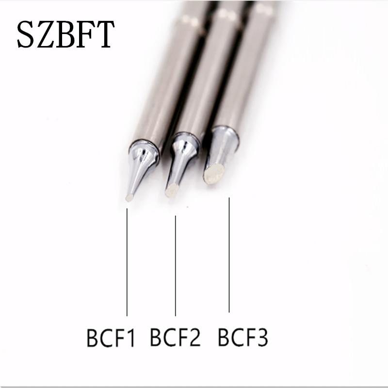 SZBFT Lead free soldering tips t12 for hakko T12- BCF1 BCF2 BCF3 iron tips for Hakko t12 soldering station For FX-950/FX-951 soldering station soldering iron tip t12 soldering iron solder tip t12 1405 1406 for hakko