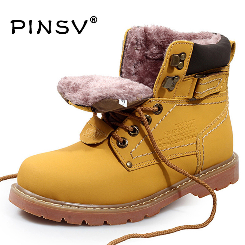 Big Size 35 46 Winter Men font b Boots b font Genuine Leather font b Boots