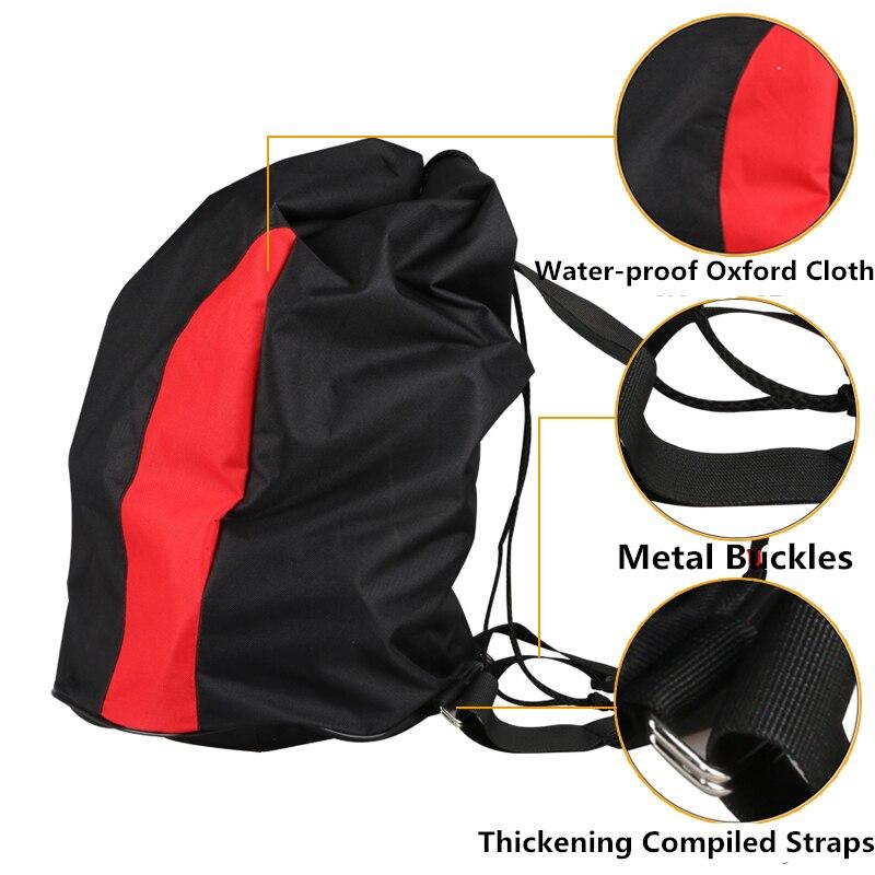 2017 Durable Canvas Black Taekwondo Protectors Backpack Can Hold Up 5pcs Tkd Protectors Child Bag Muay Thai Mma Karate Bags