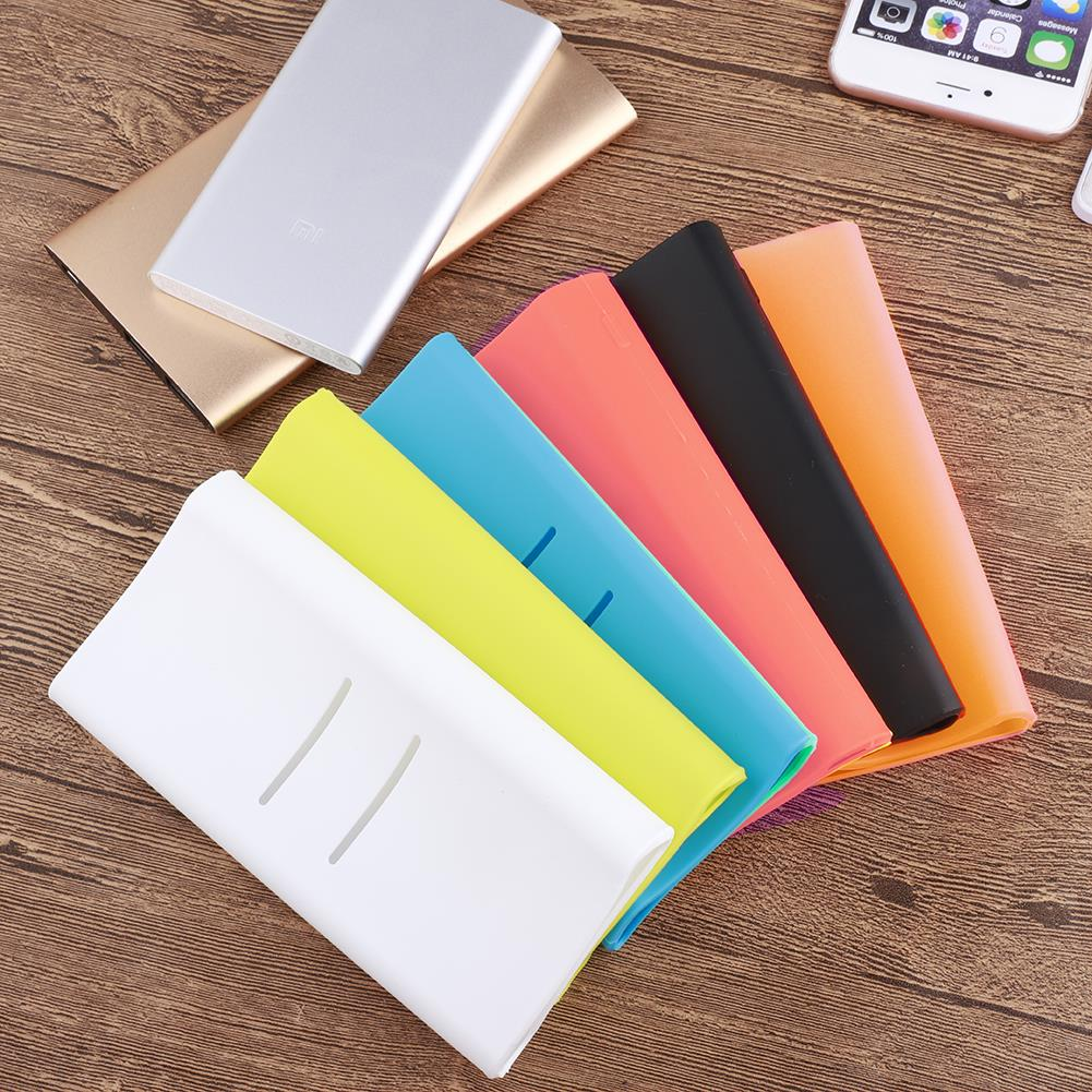 1pcs <font><b>for</b></font> <font><b>Xiaomi</b></font> Powerbank <font><b>Case</b></font> Silicone <font><b>Case</b></font> Portable External Battery cover <font><b>for</b></font> <font><b>20000mAh</b></font> <font><b>Xiaomi</b></font> <font><b>Power</b></font> <font><b>Bank</b></font> image