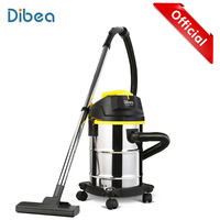 Dibea DU100 Household Vacuum Cleaner For Home Barrel Type Wet / Dry Vacuum Cleaner Cleaning Machine Handheld Dust Collector