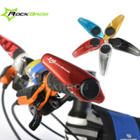 ROCKBROS MTB Bicycle Handlebar Aluminum Ultralight Riding Bike Handlebar 5 Colors Bar Ends Outdoor Cycling Sports