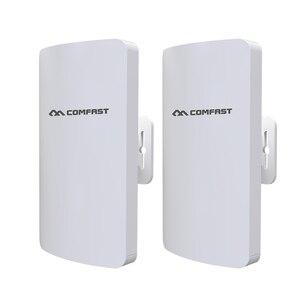 Image 2 - في المخزون 2 قطعة 3 كجم Comfast عالية الطاقة في الهواء الطلق واي فاي مكرر 5GHz 300Mbps اللاسلكية موزع إنترنت واي فاي AP موسع جسر نانو محطة AP
