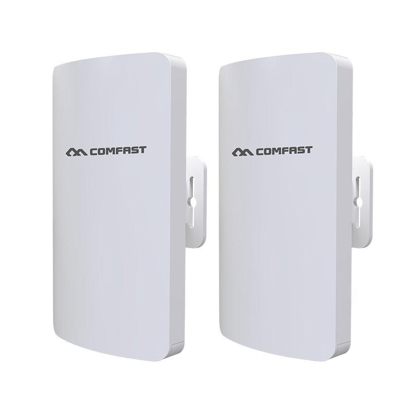 Image 2 - 2pcs 3km Comfast CF E113A High Power Outdoor Wifi Repeater 5GHz 300Mbps Wireless Wifi Router AP Extender Bridge Nano station AP-in Wireless Routers from Computer & Office
