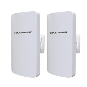Image 2 - In Stock 2pcs 3km Comfast High Power Outdoor Wifi Repeater 5GHz 300Mbps Wireless Wifi Router AP Extender Bridge Nano station AP