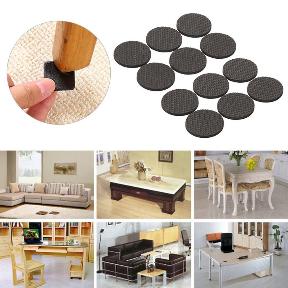Practical Design Durable EVA Furniture Pads Household Chair Sofa Table Covers Floor Protectors Ultra Quiet Non-slip Foot Mats