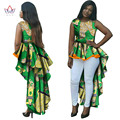 African Dresses for Women O-Neck Mermaid Dresses Women Party Dresses Maxi Dress Dashiki Plus Size Women Clothing 6XL BRW WY145