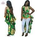 Vestidos africanos para as mulheres o pescoço da sereia vestidos vestidos de mulheres do partido maxi dress mulheres plus size 6xl roupas dashiki brw wy145