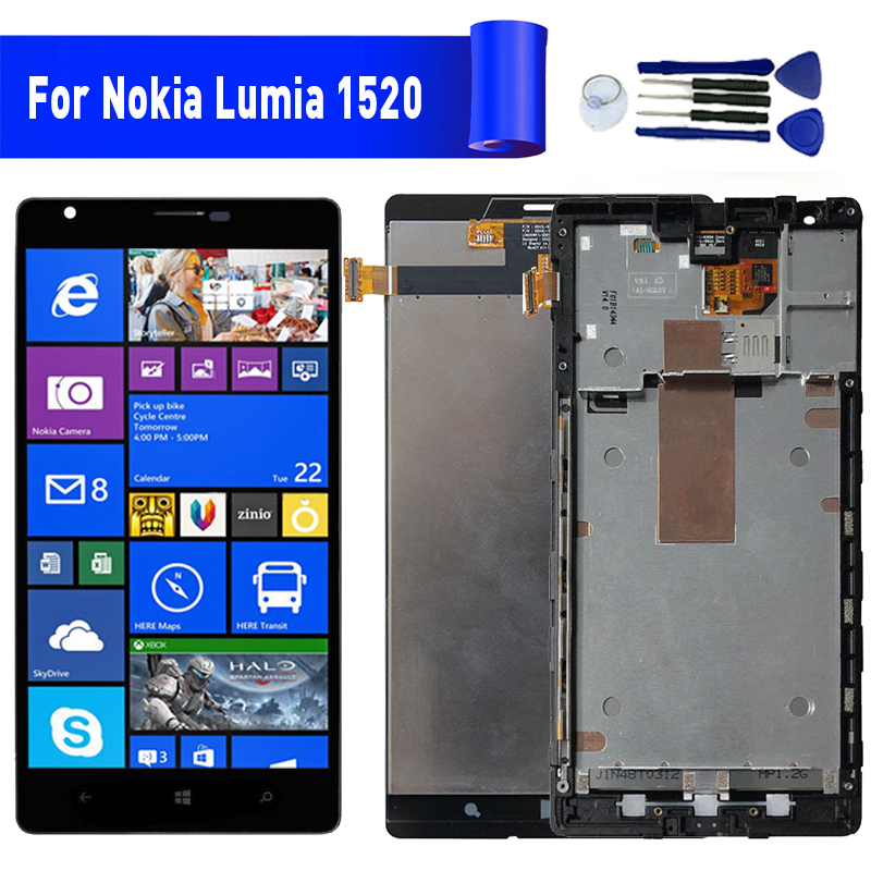 For Nokia Lumia 1520 lcd display screen Replacement For NOKIA Lumia 1520 Display lcd screen moduleFor Nokia Lumia 1520 lcd display screen Replacement For NOKIA Lumia 1520 Display lcd screen module