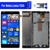 For Nokia Lumia 1520 lcd display screen Replacement For NOKIA Lumia 1520 Display lcd screen module