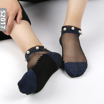 Lace Mesh silk Fishnet Socks