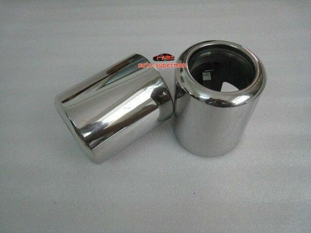 ФОТО Chrome Exhaust Muffler Tip Pipe For Mazda 6 2009 2010 2011 2012