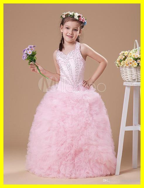 Petal Flower Girl Dress Little Girls Formal Dresses Long Eggplant