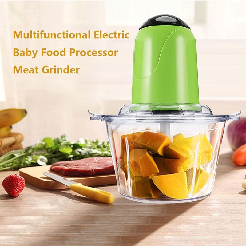 Cucina Tritacarne elettrico robot da Cucina con Lama Tritacarne Robot da Cucina Multifunzione Frutta Mixer Frullatore
