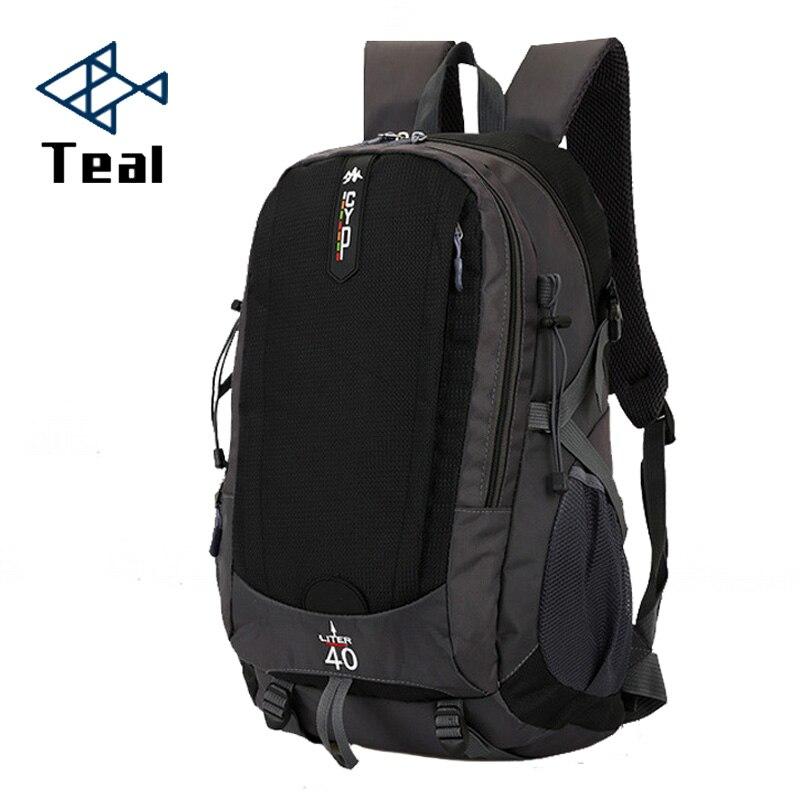 523a124bf6 2019 Men s Backpacks Male Backpack for Men Canvas Laptop Backpacks Book bag  Large Capacity 40L Waterproof
