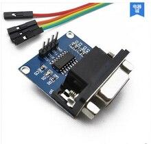 5 шт./лот MAX3232 Последовательный Порт RS232 для TTL Конвертер Модуля Разъем DB9 MAX232