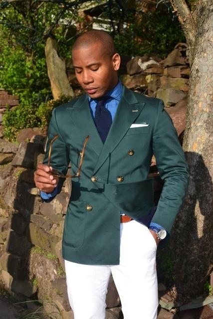 Hohe Qualität Dunkelgrün Herren Anzüge Bräutigam Smoking Groomsmen Hochzeit Abendessen Best Man Anzüge Anzüge & Blazer jacke + Pants