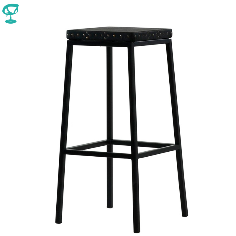 95379 Barneo N-301 High Metal Wood Kitchen Breakfast Interior Stool Bar Chair Kitchen Furniture Black Free Shipping In Russia