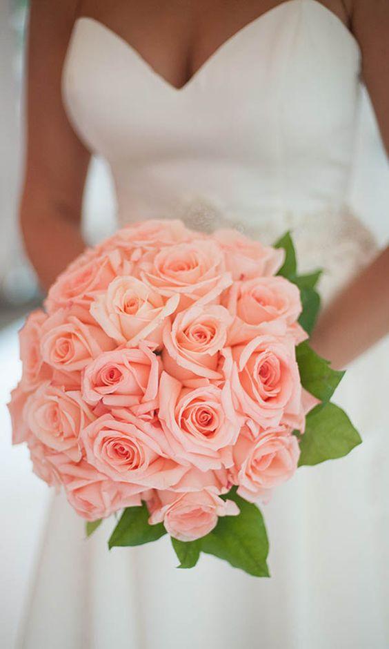 2017 New Pink Artificial Rose Wedding Bouquet Bridal Bouquet Bridesmaid Bouquet De Mariage Bruidsboeket