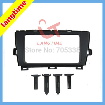 Free shipping-Car refitting DVD frame,DVD panel,Dash Kit,Fascia,Radio Frame,Audio frame for 09-12 Toyota Prius(Right),2DIN