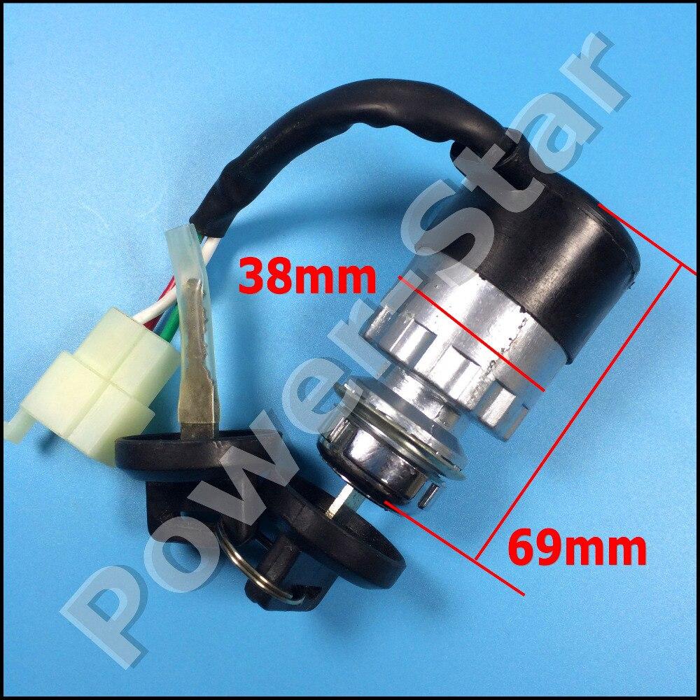 Wyłącznik zapłonu klucz 3 przewody chiński 150cc 250cc Go kart ATV UTV