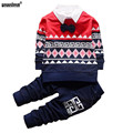 WEONEDREAM 2017 Fashion Spring Gentleman Style Children Clothing Set Baby Boys Clothing Set Kids Clothes Outfits Suit