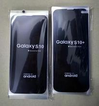 Protectores de pantalla de fábrica para Samsung Galaxy S10, S10e, S10 +, EDGE Plus, película adhesiva, S10Plus, cubierta trasera lcd, película frontal y trasera, 100 Uds.