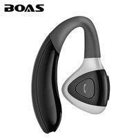 BOAS Wireless Bussiness Man Bluetooth Earphone In Ear Headphone Multi Point Tech Hands Free Headset With