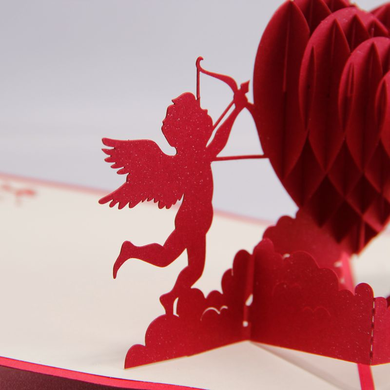 3d cupids with hearts valentines day handmade 3d greeting cards pop 3d cupids with hearts valentines day handmade 3d greeting cards pop up cards 10pcs free shipping on aliexpress alibaba group m4hsunfo