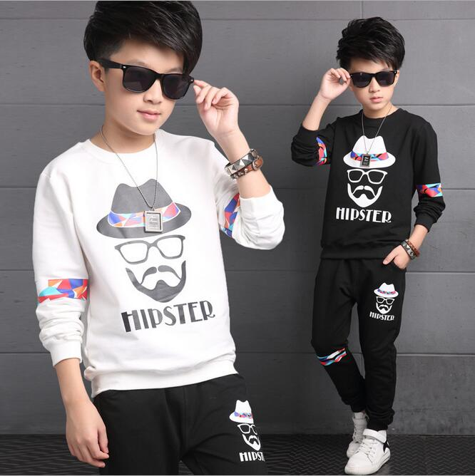 New Arrival Children Clothing Sets Print Moustache Pattern T-shirt Kids Boys Clothes Outfits Conjunto Menino Cotton Pants Set top brand luxury mens mechanical watches parnis 41mm full stainless steel automatic watch men rotating bezel luminous wristwatch