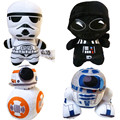 Star Wars 7 BB8 Plush Soft Doll Animal Stuffed Toythe Force Awaken Bb-8 Droid Robot R2d2 Darth Vador Storm Trooper for kids gift
