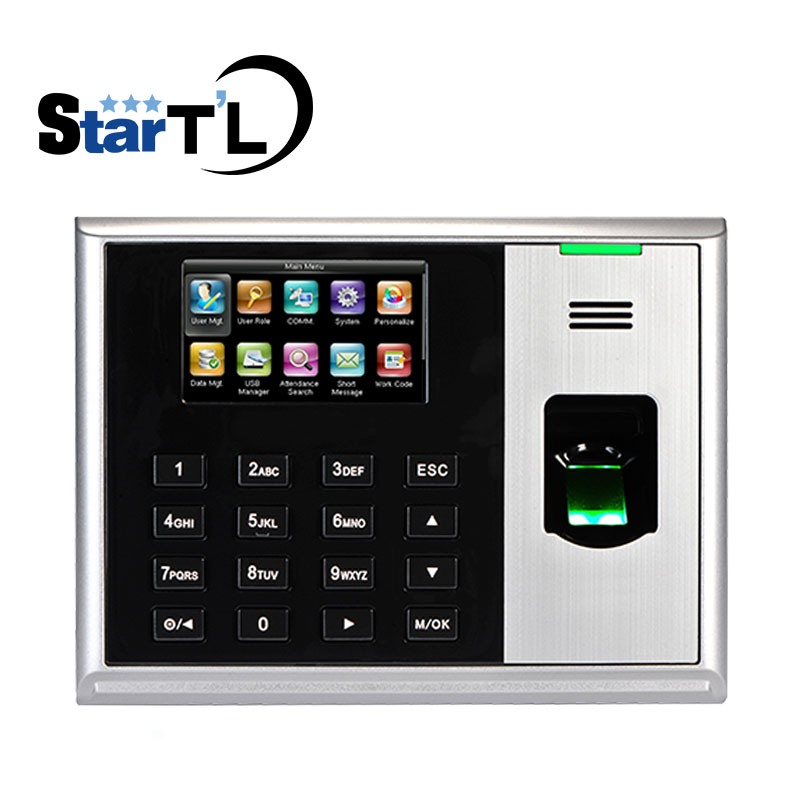 ZK S30 TCP/IP Biometric Fingerprint Time Clock Recorder Fingerprint Time Attendance Employee Electronic Fingerprint Machine