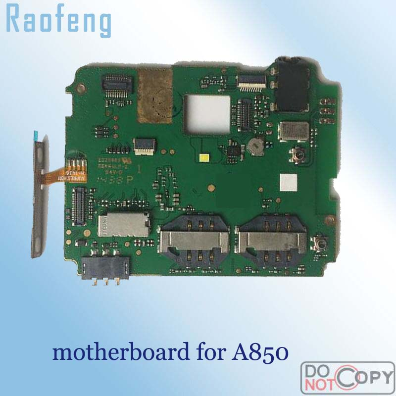 Raofeng motherboard For lenovo A850 Unlocked disassembled Mainboard test by one well
