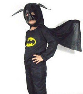 Free shipping,Cosplay, Child Batman clothes, Halloween cartoon costumes,wholesale 6pcs/lot