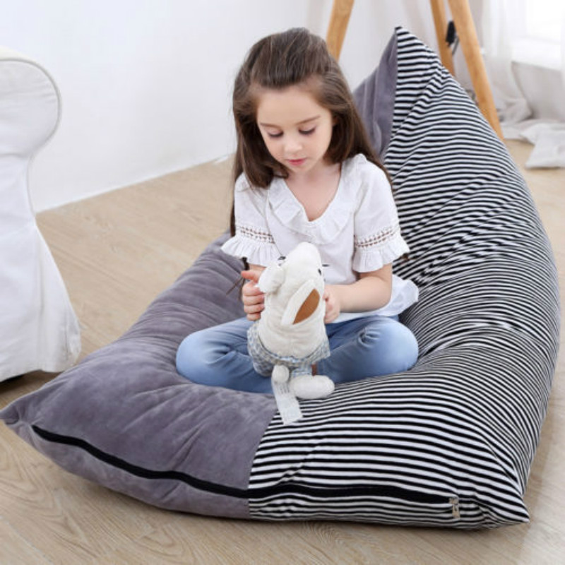 bean bag storage chair swing mumbai xxl toy stuffed animal toys canvas portable kids clothes bags organizer in from home