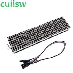 1 шт. модуль точечной матрицы для микроконтроллера arduino 4 в одном дисплей с линией 5P