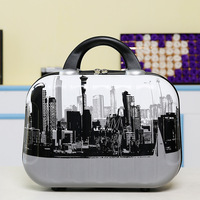 Professional Female Cosmetic Bag Beautician Make Up Bag Portable Cosmetic Case Large Capacity Travel Wash Bag