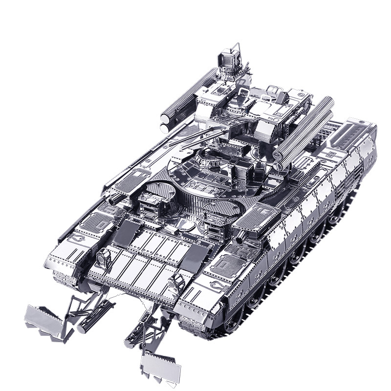 Piececool BMPT Tank DIY 3d Metal Nano Puzzle Montering Model Kits P051-S Laser Cut Jigsaw Toys