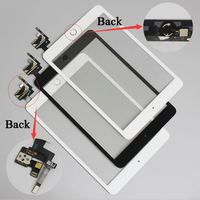 10 Pcs Lot For IPad Mini 3 Free DHL Touch Screen Digitizer Assembly With Home Button