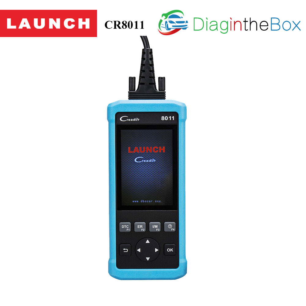 Launch Creader CR8011 full OBD Diagnostic Scanner Multi-Language ABS SRS EPB BMS