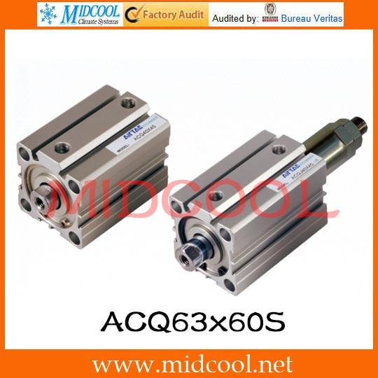 Original AirTAC Compact cylinder ACQ Series ACQ63*60-S tpkm c350 2 color copier laser toner powder for konica minolta bizhub c350 c351 c352 c450 c8020 c8031 1kg bag color free dhl