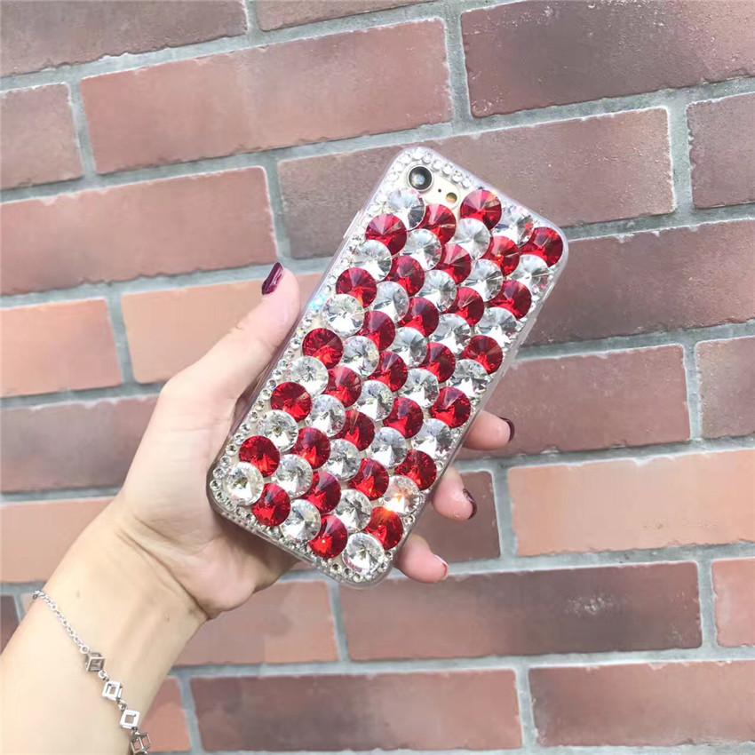Bling Rhinestone Crystal Diamond Back Phone Case Cover For HTC U11 Eyes - intl