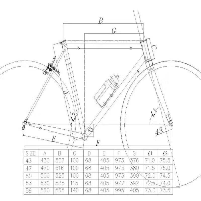 Clearance TSUNAMI 520 chrome-molybdenum steel Bicycle Frame Road Bike Frame + full carbon front Fork or steel Fork 0